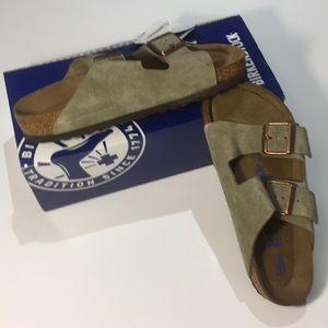 WMNS Birkenstock Arizona Suede Sandals